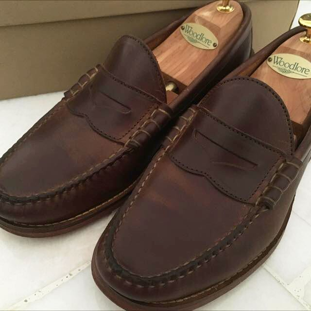 d08bcb76ee5 Oakstreet Bootmakers - Natural Beefroll Penny Loafer
