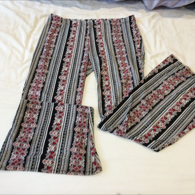 Patterned Disco Pants