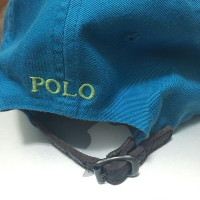 Polo 藍色老帽 減價200元