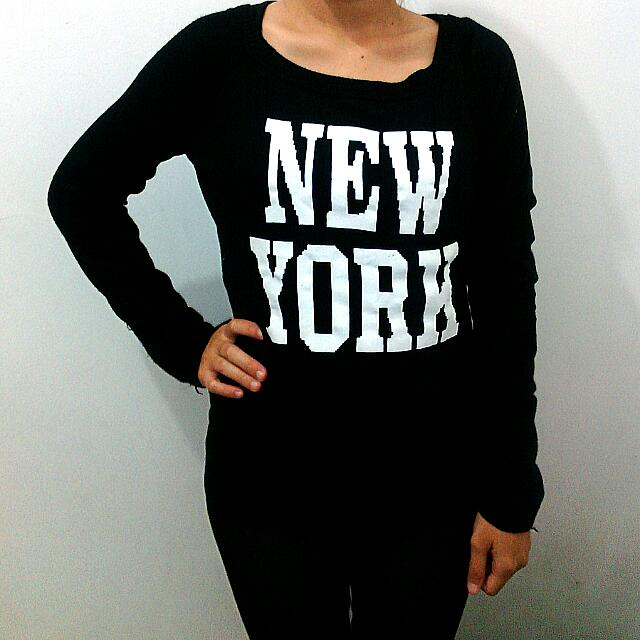 Preloved New york Sweater