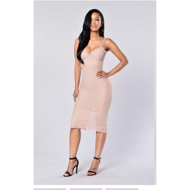 Pretty Pink Mesh Dress