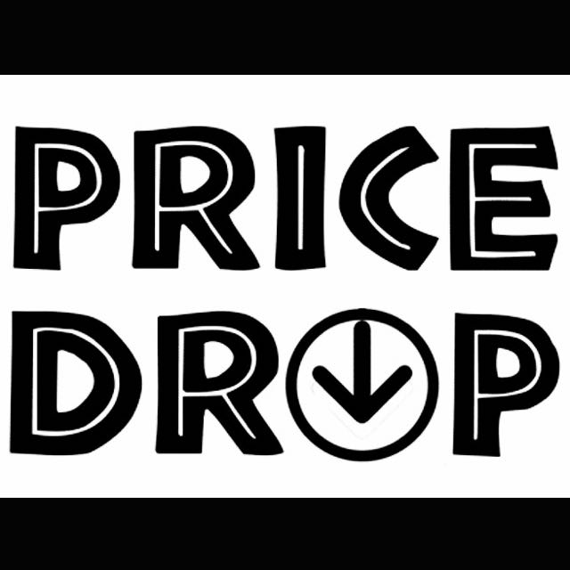 Prices Dropped On All Items