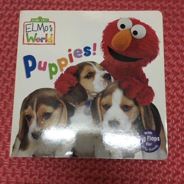 Puppies! (Sesame Street) (Sesame Street(R) Elmos World(TM))