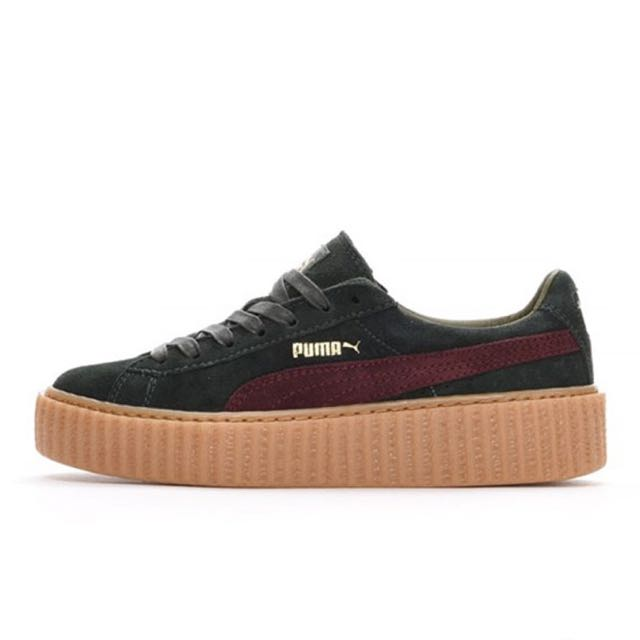 cheap for discount 52376 52e0c Rihanna Fenty x Puma Suede Creepers (US6.5), Women's Fashion ...
