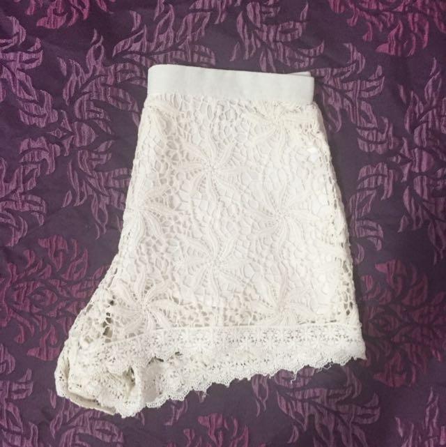 Sabo Skirt Lace Shorts ~