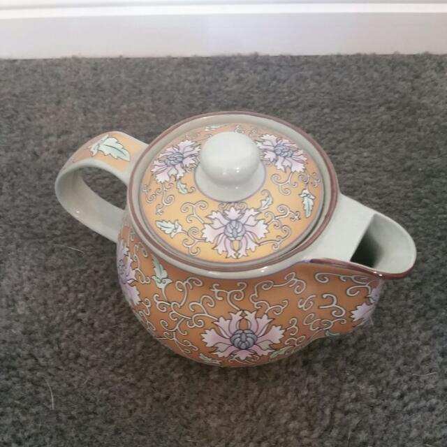 Small Floral Teapot