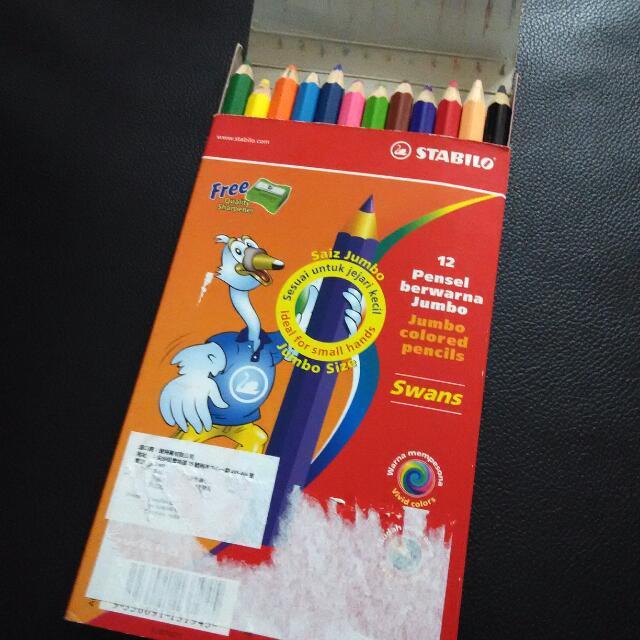 Stabilo 木顏色   顏色筆