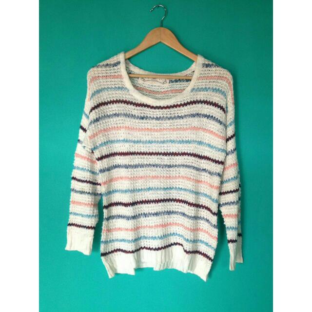 Stripes Candy Knitwear