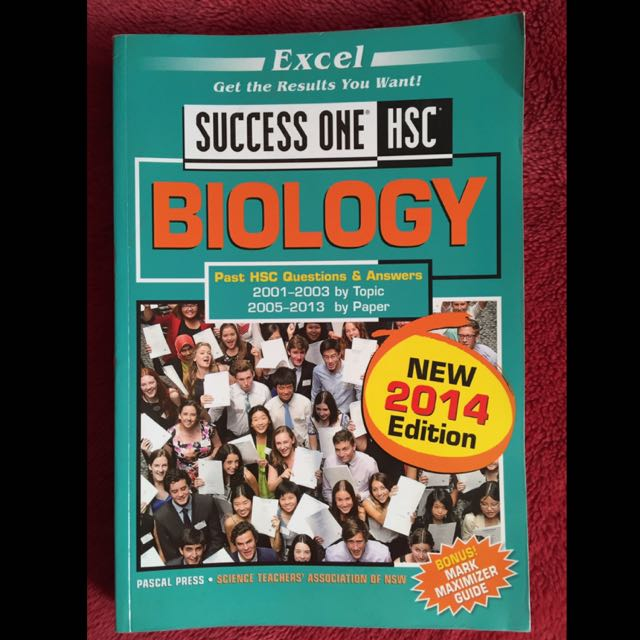 Success One HSC Biology (2014 Edition)