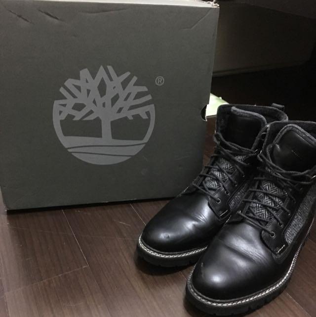 Timberland黑色靴9號半
