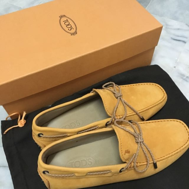 TOD'S 豆豆鞋-Yellow