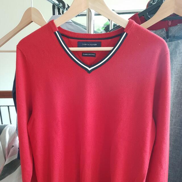 Tommy Hilfiger Sweater Merino Cotton ORIGINAL!