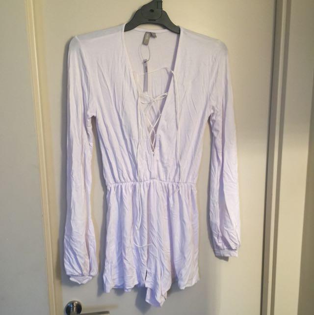 ASOS Long Sleeve Jumpsuit
