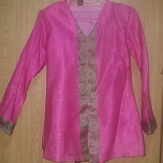 Good Condition Saree Material Blouse