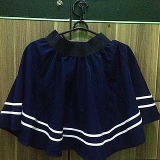 Yellow Line - Mini Skirt