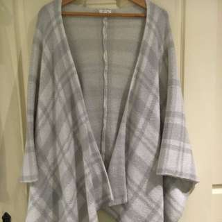 Poncho / Cape Throw Over Size Small