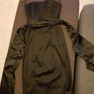Black Cocktail Evening Dress Size 10