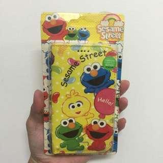 Sesame Street 芝麻街 Elmo 系列 側掀後扣手機皮套  Samsung Galaxy note2 N7100