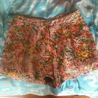 Mimosa High Waist Shorts