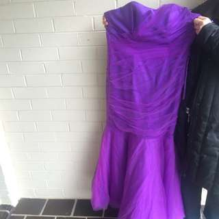 Size 14 Beautiful Mermaid Formal Gown