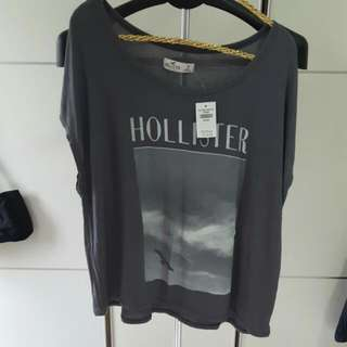 HOLLISTER(海鷗)夏季上衣M號