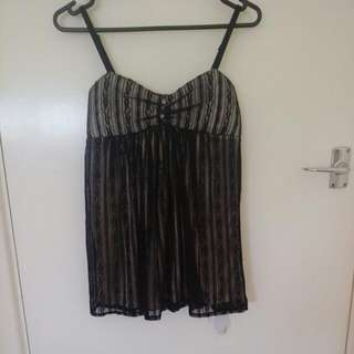 Dressy Top With Straps