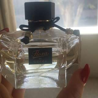 Gucci Flora 50ml Left From 75ml