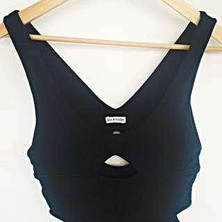 Bec & Bridge Black Maxi Dress