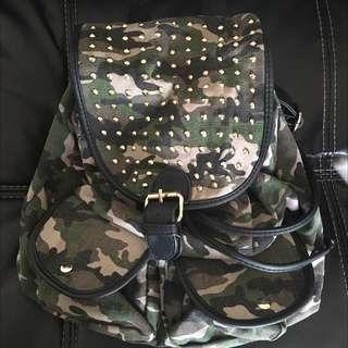 The Iconic Camouflage Back Pack