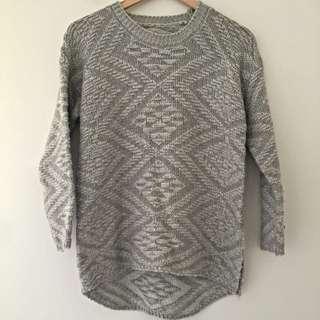 No Brand Grey Knit