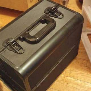 Large Black Makeup Case
