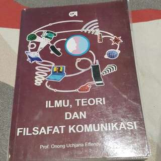 Ilmu , Teori Dan Filsafat Komunikasi