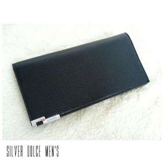 Brand New Genuine leather Men's Long Wallet