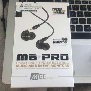 MEE Audio M6 PRO Universal-Fit Noise-Isolation