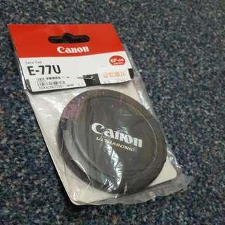 Canon E-77U 鏡頭蓋 (77mm)