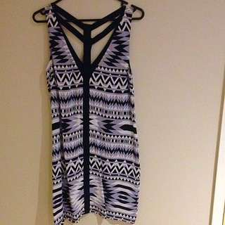 Portmans Size 8 Shift Dress Fully Lined