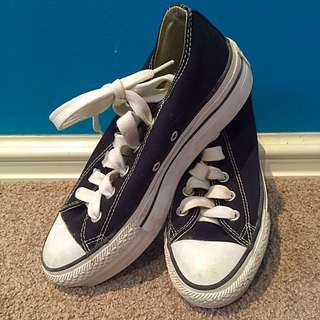 Slightly Platformed Converse