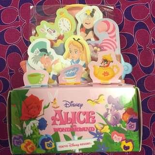 Alice In The Wonderland Memo 組 東京限定