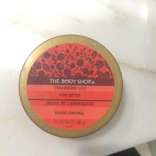 Body Shop - Cranberry Joy Body Butter