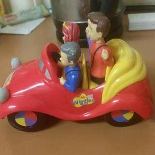Wiggles Big Red Car (Sings)
