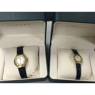 全新卡紛Carven Watch 男女情侶裝手錶