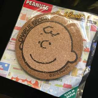 Charlie Brown 查里布朗 杯墊