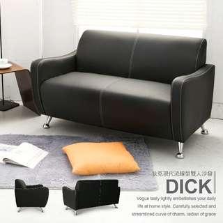 【多瓦娜】Dick 狄克美型雙人沙發2113-501
