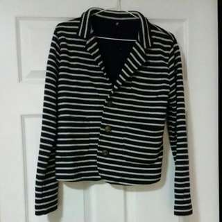 Dangerfield Knit Blazer Size 8