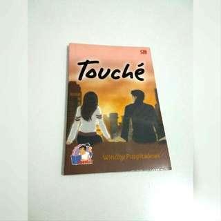 Buku Novel Touche By Windhy Puspitadewi