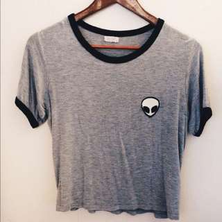 Brandy Melville- Alien Shirt