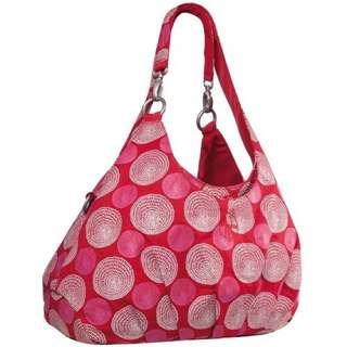 Lassig Gold Label Reversible Diaper Bag RED