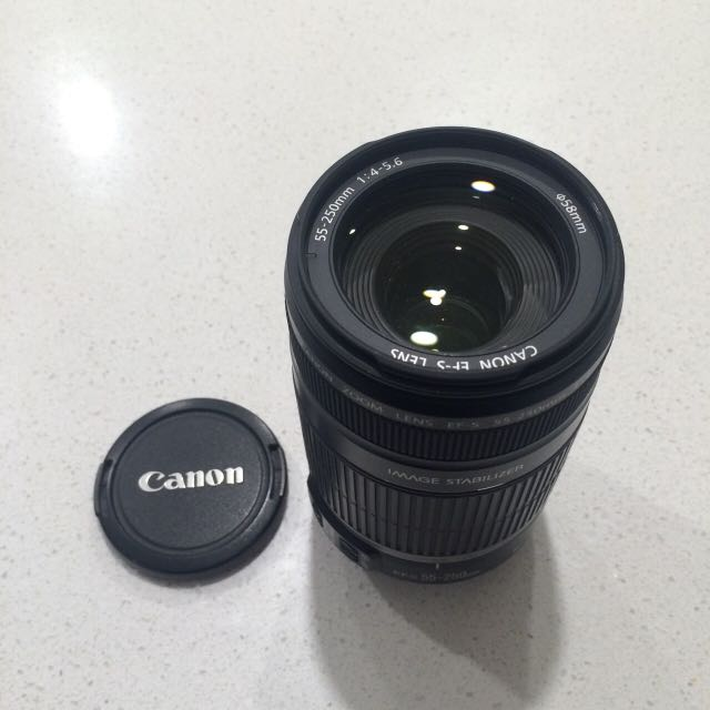 55 -250mm Canon Lens