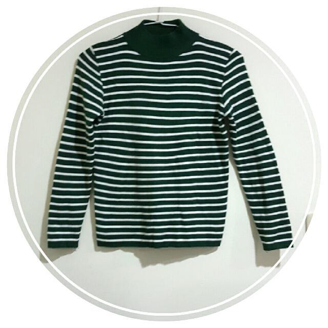 含運🎉針織條紋上衣