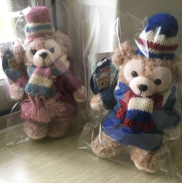 日本冬季大衣有帽達菲+雪莉玫 全新 已絕版